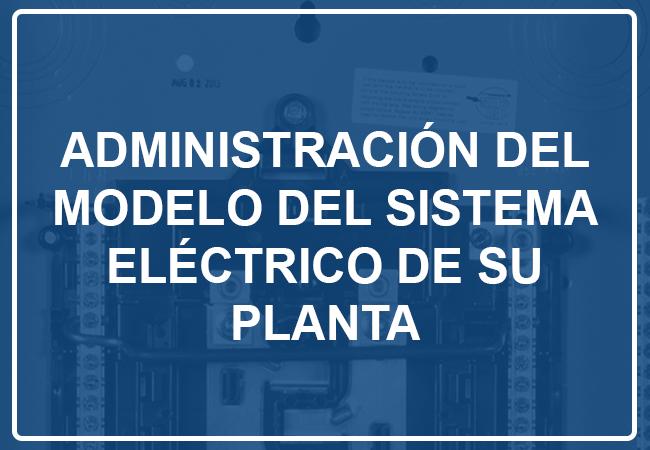 Administración de modelo eléctrico