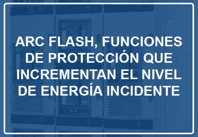 FUNCIONES PROTECCION DE ENERGIA INCIDENTE